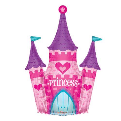 Ф. Фигура (36''/91 см) Девочки - Замок принцессы -; Розовый