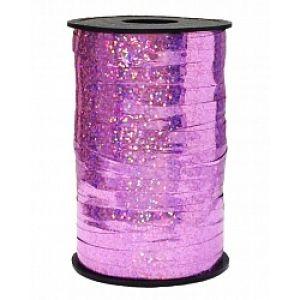 Бобина голография (0,5 см x 250 м) Розовый