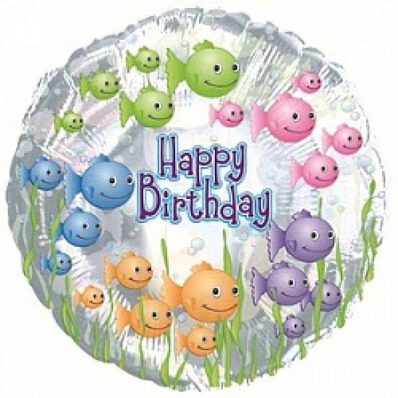 Хочу, открытка с днем рождения для рыбы