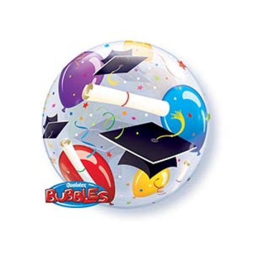 Б. Bubbles (22''/56 см) ВUBBLES - Шар Дипломы Шары Шапочки -