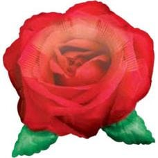 Ф. Фигура (18''/46 см) Любовь - Роза красная малая -