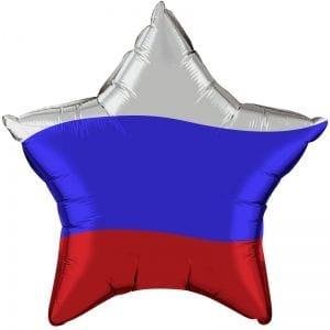 Ф. Звезда (с рис) (18''/46 см) Мальчики - Триколор России -