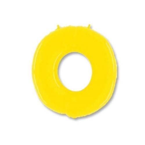 Ф. Цифры (40''/102 см) Цифры - 0 -; Желтый