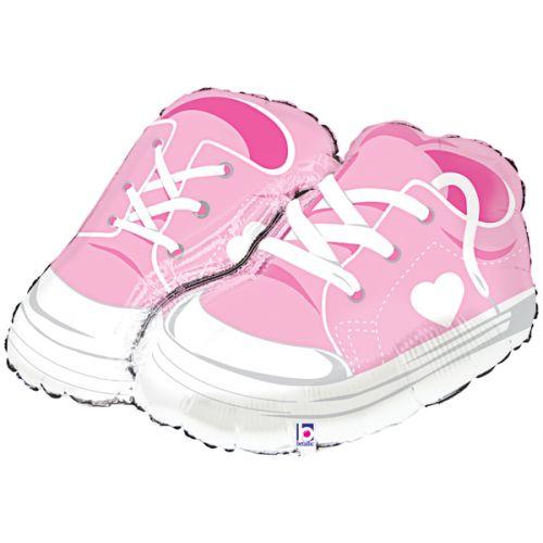 Ф. Фигура (18''/46 см) Новорожденные девочки - Ботиночки девочка -; Розовый