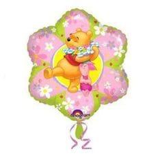 Ф. Звезда (с рис) (18''/46 см) Мультики - Винни и Пятачок в цветке -