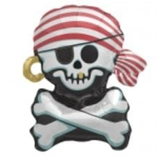 Ф. Фигура (30''/76 см) Мальчики - Пиратский череп -