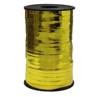 Бобина ленты для шариков металлизированная - Золото