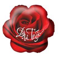 Ф. Фигура (18''/46 см) Любовь - Для тебя роза -; Красный
