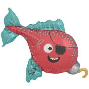 Ф. Фигура (41''/104 см) Мальчики - Рыба пират -; Красный