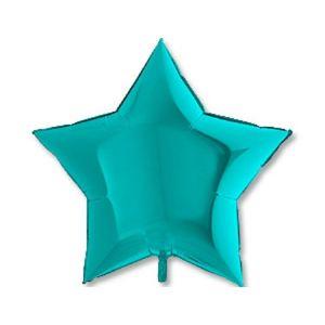 Ф. Звезда (без рис) (18''/46 см) Аэродизайн - Металлик -; Тиффани
