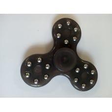 Спиннер -  Черный с шариками (три лопасти)