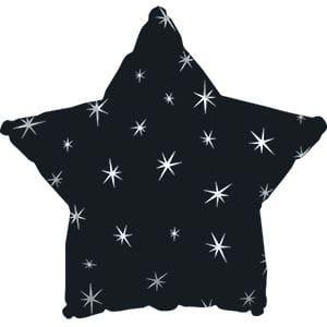 Ф. Звезда (с рис) (18''/46 см) Аэродизайн - Искры -; Черный