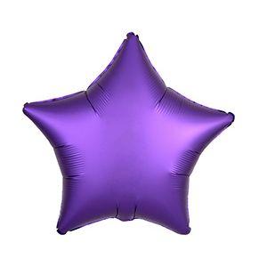 Ф. Звезда (без рис) (18''/46 см) Аэродизайн - Сатин -; Фиолетовый