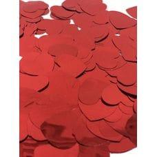 Конфетти -  фольга, Сердца, Красный, 50гр