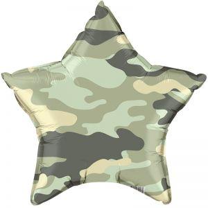 Ф. Звезда (с рис) (18''/46 см) Мальчики - Камуфляж -; Зеленый
