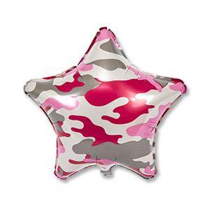 Ф. Звезда (с рис) (18''/46 см) Мальчики - Камуфляж -; Розовый