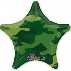 Ф. Звезда (с рис) (18''/46 см) Мальчики - Камуфляж 2 -; Зеленый
