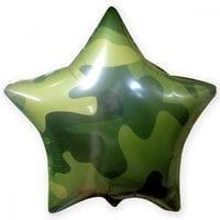 Ф. Звезда (с рис) (18''/46 см) Мальчики - Камуфляж 3 -; Зеленый