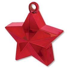 Грузик для шара Звезда Красный 170гр