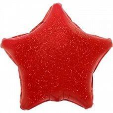 Ф. Звезда (без рис) (18''/46 см) Аэродизайн - Голография -; Красный