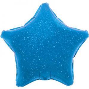 Ф. Звезда (без рис) (18''/46 см) Аэродизайн - Голография -; Синий