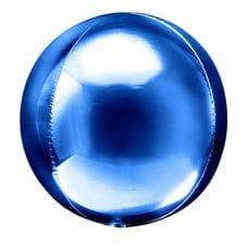 Ф. 3D СФЕРА (20''/51 см) ВUBBLES; Синий