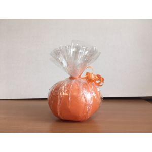 Грузик карамель (ручная работа) - оранжевый
