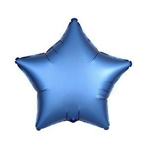 Ф. Звезда (без рис) (18''/46 см) Аэродизайн - Сатин Azure -; Синий