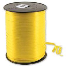 Бобина ленты для шариков простая - Желтый