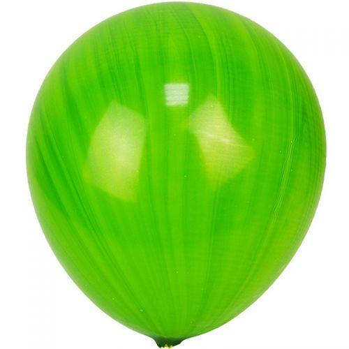 Мраморный шар 70см зеленый