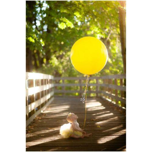 Большой желтый шар 90см