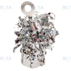 Грузик для шара Конус серебряный 170гр