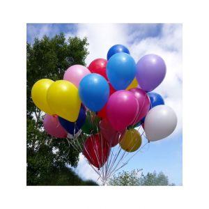 Облако разноцветных шаров с обработкой