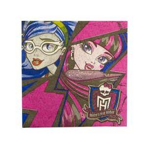 Салфетки - Салфетка Monster High 33см 16шт