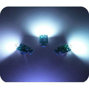Светодиоды 3d - белые