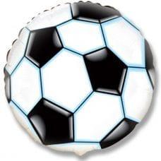 Ф. Круг (с рис) (18''/46 см) Мальчики - Футбольный мяч -; Черный