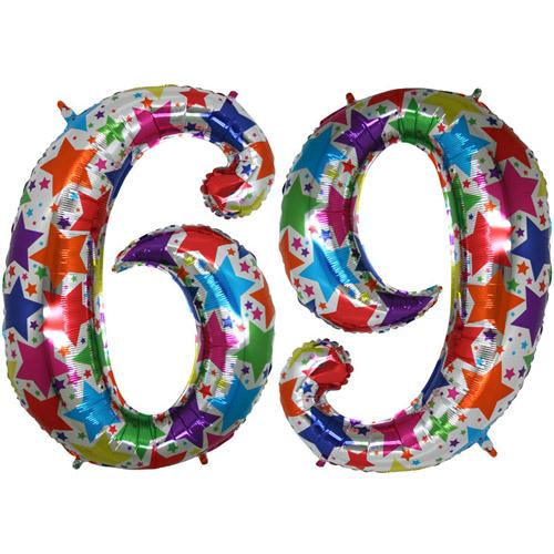 "Ф. Цифры (40''/102 см) Цифры - ""6"" / ""9"" -; Дизайнерская"