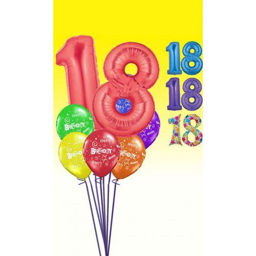 """Букет """"День рождение 18"""""""