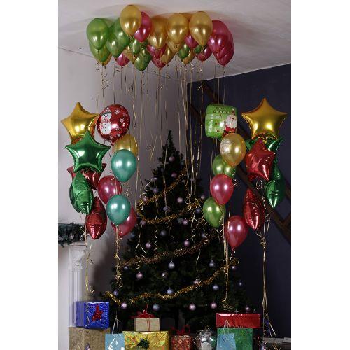 Набор: Украшение шарами на день рождения фонтаны и шарики