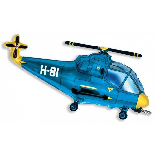 Ф. Фигура (39''/99 см) Техника - Вертолет -; Синий