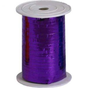 Бобина ленты для шариков металлизированная - Фиолетовый