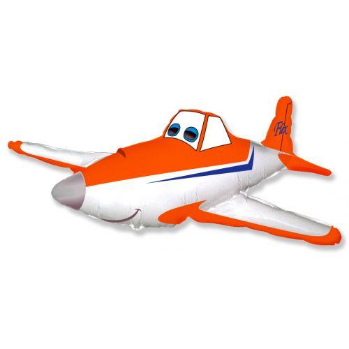 Ф. Фигура (33''/84 см) Мультики - Гоночный самолет -; Оранжевый