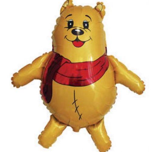Ф. Фигура (33''/84 см) Животные - Медведь в шарфе -