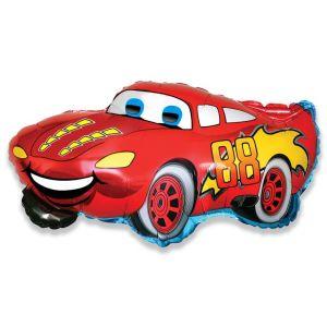 Ф. Фигура (33''/84 см) Техника - Гоночная машина -; Красный