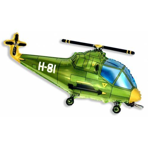 Ф. Фигура (39''/99 см) Техника - Вертолет -; Зеленый