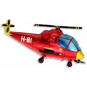 Ф. Фигура (39''/99 см) Техника - Вертолет -; Красный