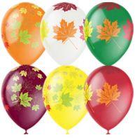 Л. Шар (с рис) (12''/30 см) 1 сентября - Осенние Листья -; Декоратор