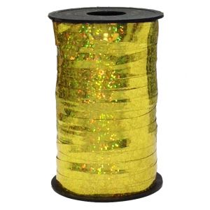 Бобина голография (0,5 см x 250 м) Золото