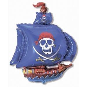 Ф. Фигура (41''/104 см) Мальчики - Пиратский корабль -; Синий