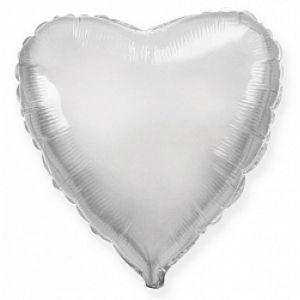 Ф. Сердце (без рис) (18''/46 см) Аэродизайн; Серебро